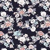 Fabulous Fabrics Baumwolljersey Fleur 2 — Meterware ab