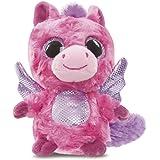 Aurora World 60338 - Yoohoo and Friends Cerise Pegasus, 5 Zoll, heiß rosa