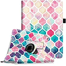 Fintie iPad Air 2 Funda - Giratoria 360 grados Smart Case Funda Carcasa con Función y Auto-Sueño / Estela para Apple iPad Air 2 (iPad 6th Generación 2014 Versión) 9.7 Inch iOS Tableta, Colorful Mosaic