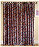 Urban Arts Floral Polyester Door Curtain...