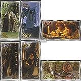 Nueva Zelanda 1955-1960 (completa.edición.) 2001 Sr. el Anillos (sellos para los coleccionistas)
