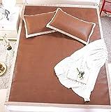 Best Dormir Colchones - Rota de bambú carbonizado,Estera de la cama para Review
