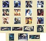 Star Wars 2015 PHQ-Karten Nr. 408, Mint, Royal Mail Postkarten 19)