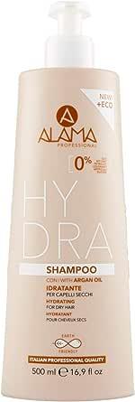 Alama Professional Hydra Shampoo per Capelli Secchi, 500ml