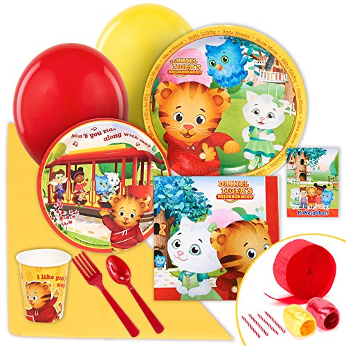 Daniel tiger party supplies - value party pack by birthdayexpress