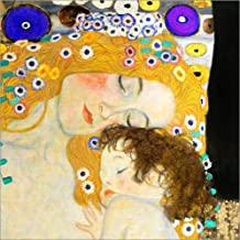 Posterlounge Cuadro Sobre Lienzo 50 x 50 cm: Mother with Child de Gustav Klimt -