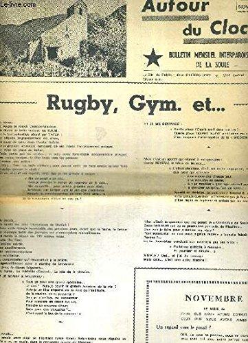 AUTOUR DU CLOCHER - N°10 - novembre 1972 / Rugby, Gym etc... / sauver l'Eskuara... par COLLECTIF