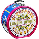 The Beatles Sargeant Peppers Lonely Hearts Drum Shaped Tin Tote