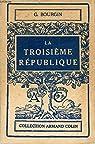La troisième république par Bourgin