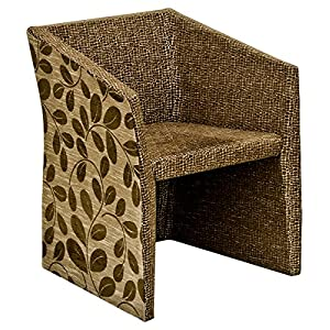 Febland Kim Chair, Fabric, Brown, 55x60x76 cm