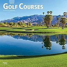 Golf Courses - Golfplätze 2019 - 18-Monatskalender (Wall-Kalender)