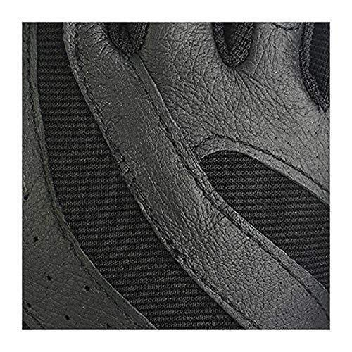 JIAHE115 Guanti Mini Guanto Urti Bicicletta Assorbimento Indossare Guanti Bicicletta semiscorrimento Ventilazione Essiccazione, Nero, S (Color : Black, Size : XL)