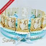 Gastgeschenk-Kommunion Kuchen mit Ikone Heilige Kind Kelch Versand inklusive Torta da 12 fette