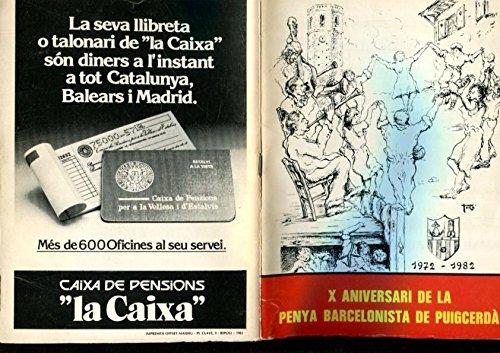 X Aniversari de la Penya Barcelonista de Pûigcerda