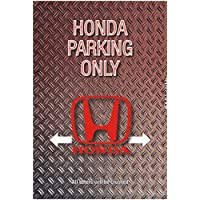 ComCard Honda Parking Only Blechschild