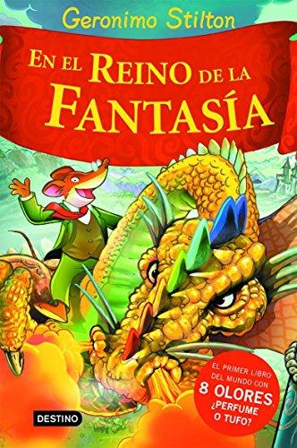 Geronimo Stilton viaja al Reino de la fantasía y descubre cómo huelen las brujas, las sirenas, los dragones, las hadas, los duendes... ¡Éste es el primer libro del mundo con 8 olores sorprendentes! Frótalas y huele, ¿perfume o tufo? Un excelente rega...