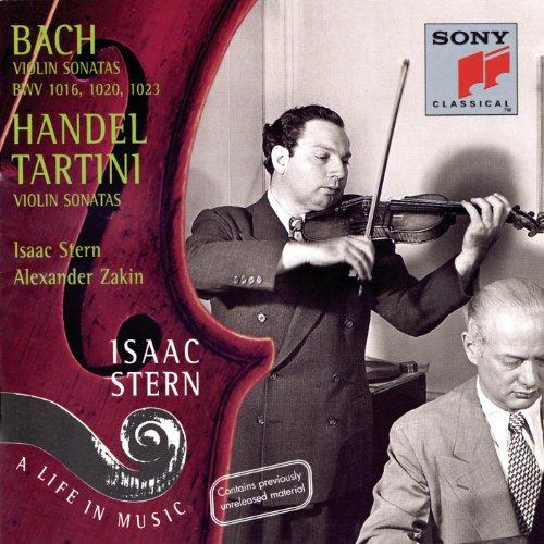 Bach/Handel/Tartini: Sonatas for Violin