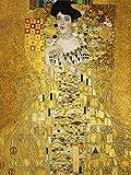 GUSTAV KLIMT PORTRAIT OF ADELE BLOCH BAUER I OLD ART PAINTING PRINT 12x16 inch 30x40cm 1152OM