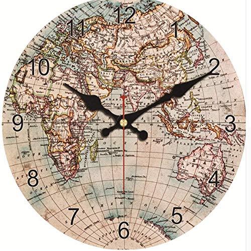 Horloge Murale Monde