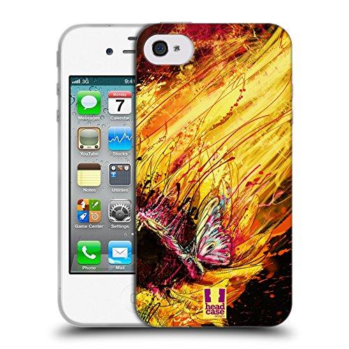 Head Case Designs Girasole Gocce Floreali Cover Morbida In Gel Per Apple iPhone 7 / iPhone 8 Girasole
