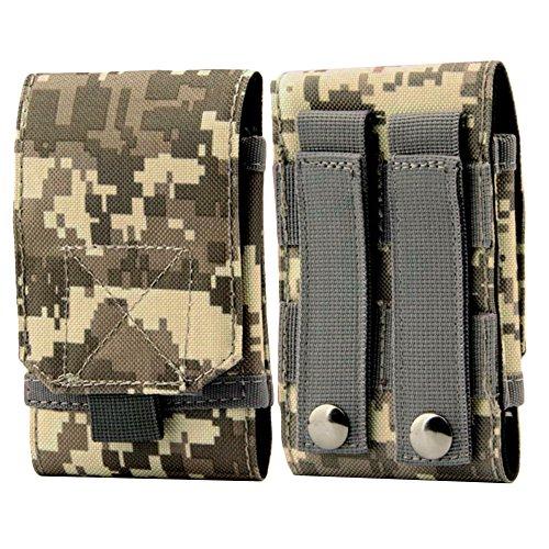 YooGer Hüfttasche, Wasserdichte Militärische Taktische Handytasche Utility Gadget Gürtel Gürteltasche für Sport Outdoor Wandern Camping. (ACU Camouflage)