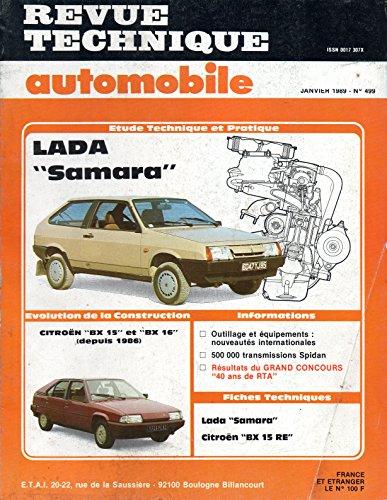 REVUE TECHNIQUE AUTOMOBILE N° 499 LADA SAMARA 1300 ET 1500 par E.T.A.I.