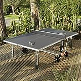 Table de Ping Pong 250S CROSSOVER OUTDOOR- Bleu, Votre table livrée montée +75 - Non