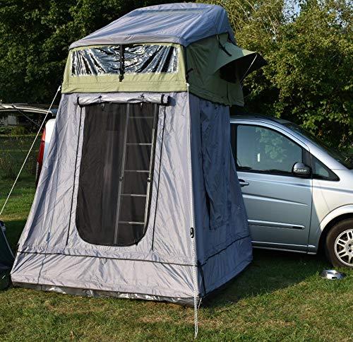 NB outdoor Camping Dachzelt Berlin mit Vorzelt 320 x 140 x 130 cm
