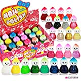 24 x Nagellack-Set Puppe Form 24 Verschiedene Farben Baby Form Cute Doll (Set B)