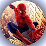 Fondant Tortenaufleger Tortenbild Geburtstag Spiderman T2