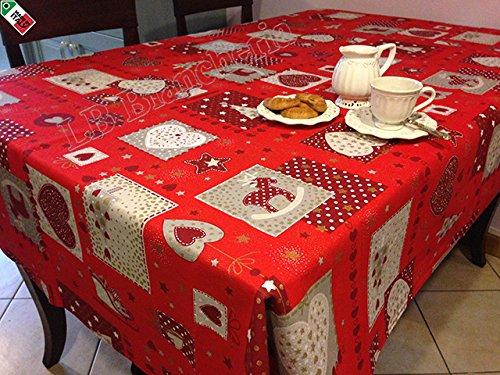 Tovaglia Natale Cucina Soggiorno Patchwork \