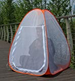 #9: Kawachi Single Person Automatic Pop up Anti Mosquito Net Meditation Yoga Cum Child Outdoor Camping Tent
