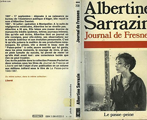 Le passe-peine, 1949-1967 par Albertine Sarrazin