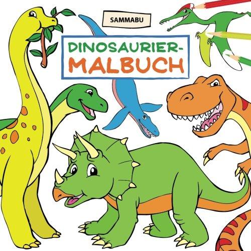 Dinosaurier-Malbuch: Das Dino-Malbuch für Kinder ab 4 Jahren (Dinosaurier-malbuch)