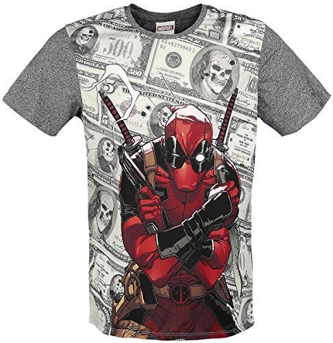 Maglietta Deadpool T Shirt Bills Size M CODI