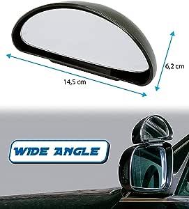 Toter Winkel Spiegel Für Die Fahrschule Weitwinkel Langes Design Autospiegel Für Tote Seiten Für Verkehrssicherheit Auto