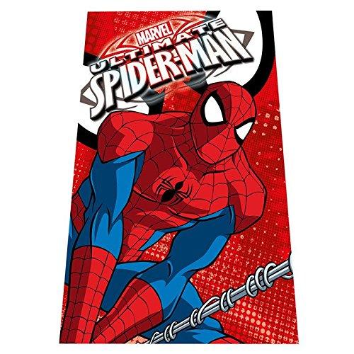 best service ba667 acb5c Marvel Spiderman MV92359 Coperta Plaid, Pile, 150 Centimetri, Bambino,  Multicolore