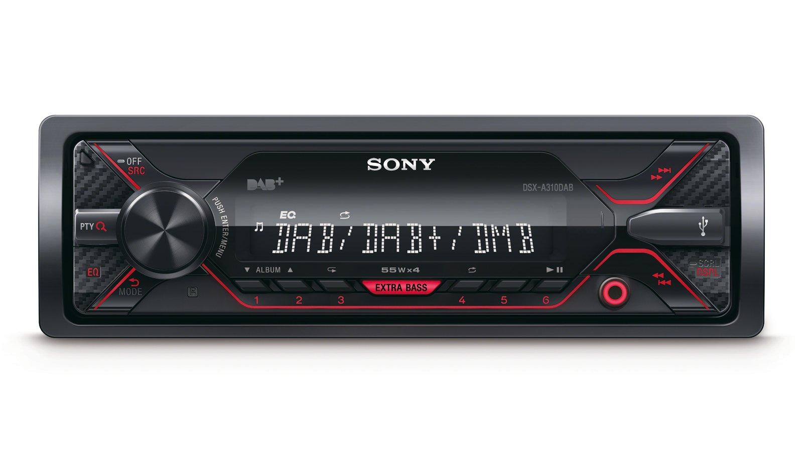 Sony-dsxa310kit-Autoradio-mit-USB-Schwarz