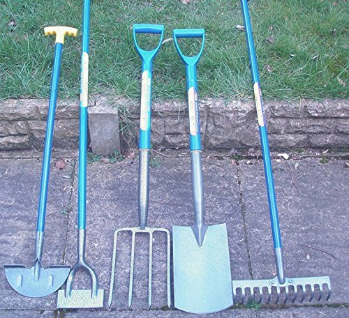 Set of 5 Gardening Tools, Shovel...