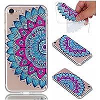 Preisvergleich für Hülle für iPhone 8, Hülle für iPhone 7, CrazyLemon 3D Kreativ Geprägt Lack Printed Muster Soft Flex Silikon Transparent...