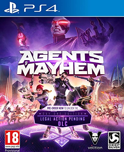 Agents of Mayhem Day One Edition (PS4) - [AT-PEGI]