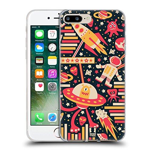 Head Case Designs Occhiali Pattern Hipster Cover Morbida In Gel Per Apple iPhone 5 / 5s / SE Spazio