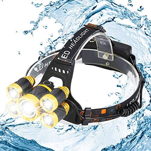 Torcia a testa cilindri LED ricaricabili, faretti a usato  Spedito ovunque in Italia