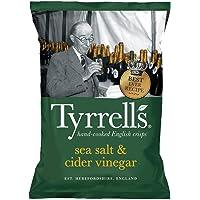 Tyrrels Chips Vinegar And Sea Salt (All'Aceto e Sale Marino) - 150 g