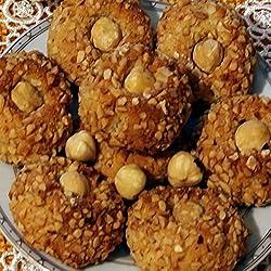 Paste di mandorla alla nocciola, Kg. 1. SPEDIZIONE GRATUITA!Rarezze: pasticcini, biscotti, torroncini, pasticceria e prodotti tipici siciliani da antico laboratorio artigianale
