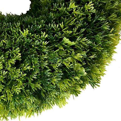 ∅ 30 cm künstlicher Kranz Buchsbaum (Thuja) Türkranz Tischkranz