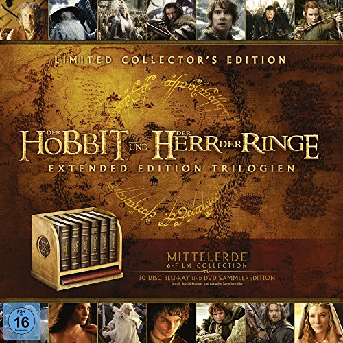 Mittelerde Ultimate Collector's Edition [Blu-ray]