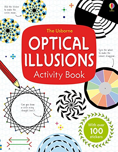 Optical Illusions Activity Book (Art Books) por Sam Taplin