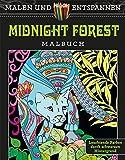 Malen und entspannen: Midnight Forest