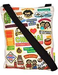 Eco Corner Women's Sling Bag (Multi-Coloured, 4074)